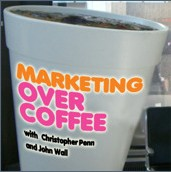 Marketing Over Coffee Podcast Logo