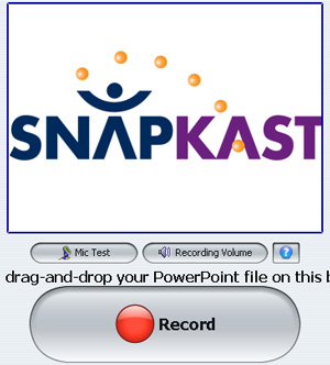 SnapKast Record Screen