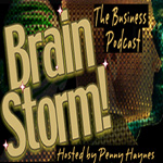 Brain Storm podcast logo