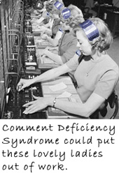 Comment Deficiency Syndrome