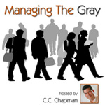 Managing the Gray podcast logo